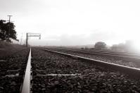 Foggy Train Tracks - Nishan Wanigasekara (Commended)