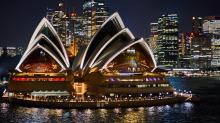 Opera House at Night - Frank Riddell (Commended)