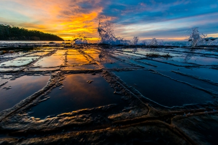 Boris Struk - Tessellated Pavement Sunrise (Commended)