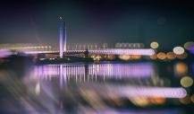 Bolte Bridge Lensbaby Bokeh - Andrew Haysom