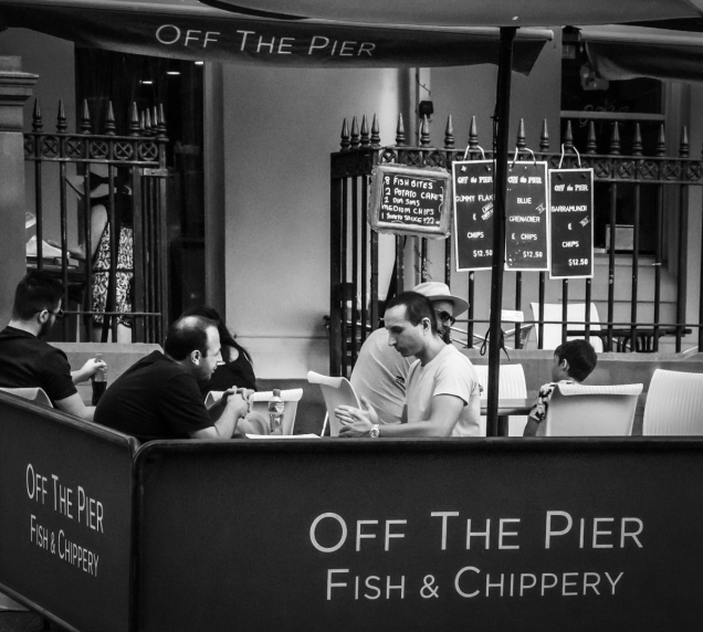 Karen Robinson - Chippery Chat (Highly Commended)