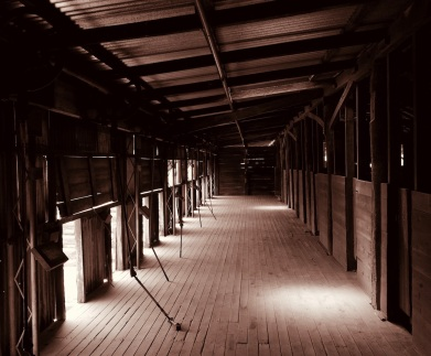 Sharon Oakley - Kinchega woolshed (Commended)