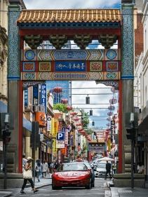 Karen Robinson - China Town Hustle & Bustle Melbourne Style (Merit)