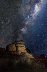 John Rapley - Devils Marbles night sky (Merit)